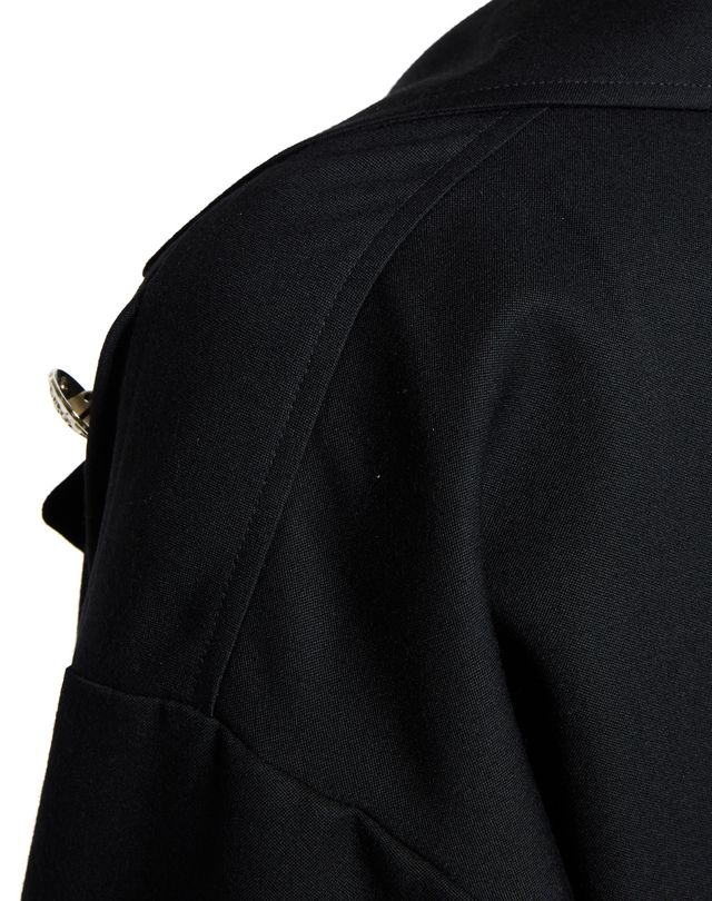 LANVIN GRAIN DE POUDRE WOOL JACKET Jacket D b