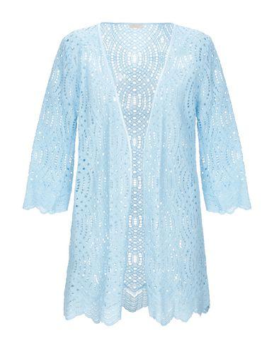 Купить Легкое пальто от MOUCHE небесно-голубого цвета