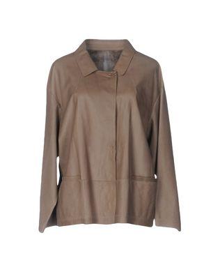 SYLVIE SCHIMMEL Damen Jacke Farbe Khaki Größe 4 Sale Angebote Drieschnitz-Kahsel