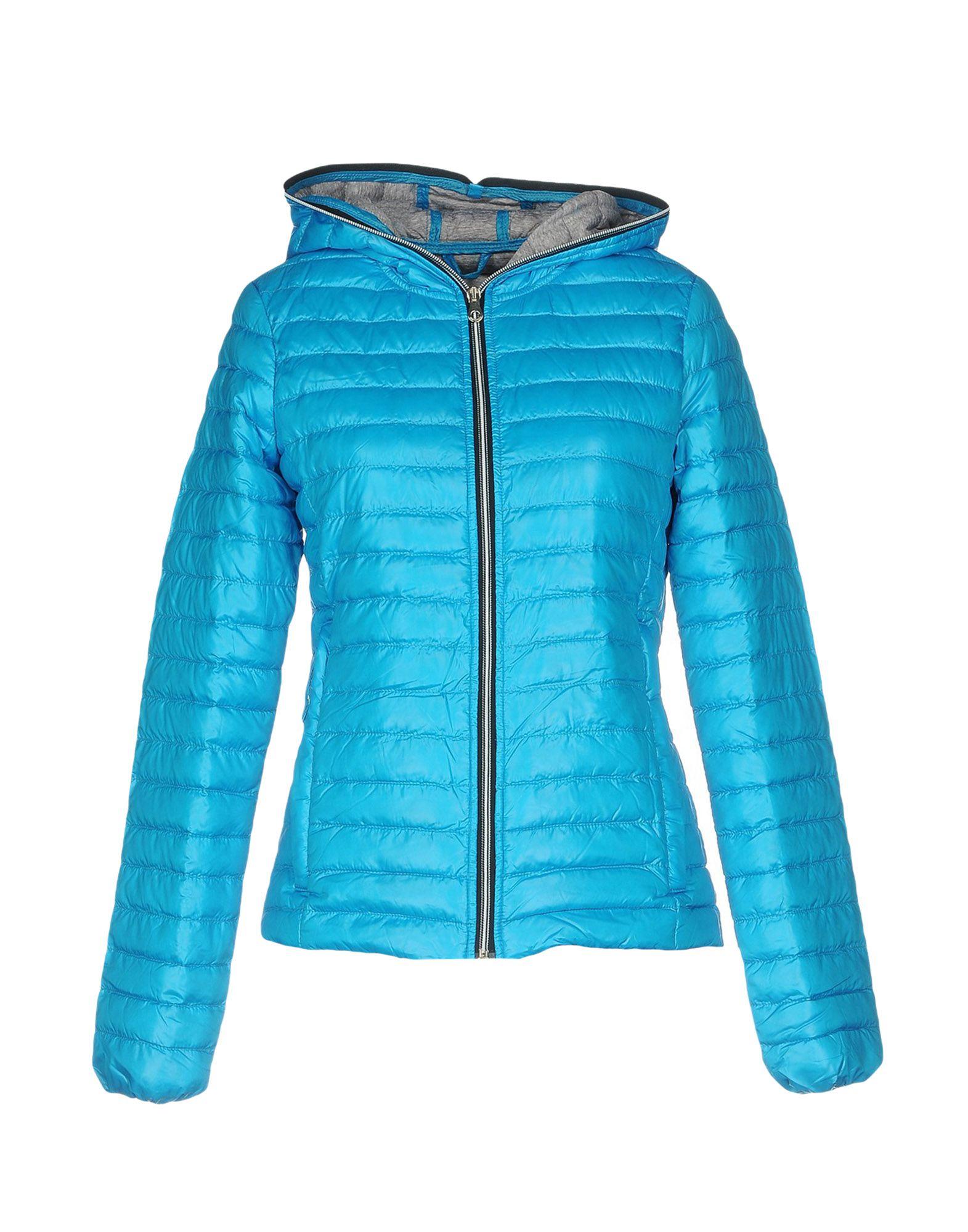 DUVETICA Damen Steppjacke Farbe Azurblau Größe 2 jetztbilligerkaufen