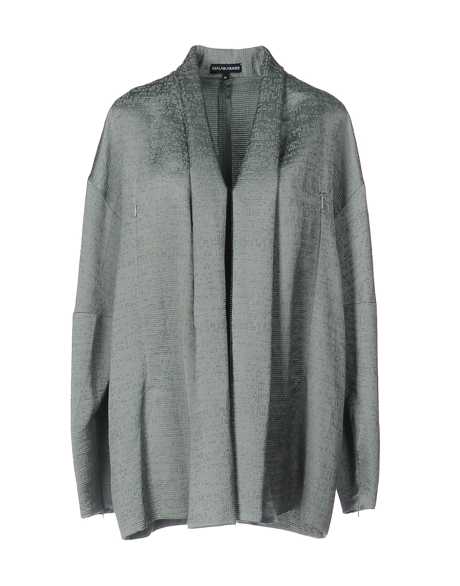 MALAIKA RAISS Damen Lange Jacke Farbe Säuregrün Größe 5 jetztbilligerkaufen