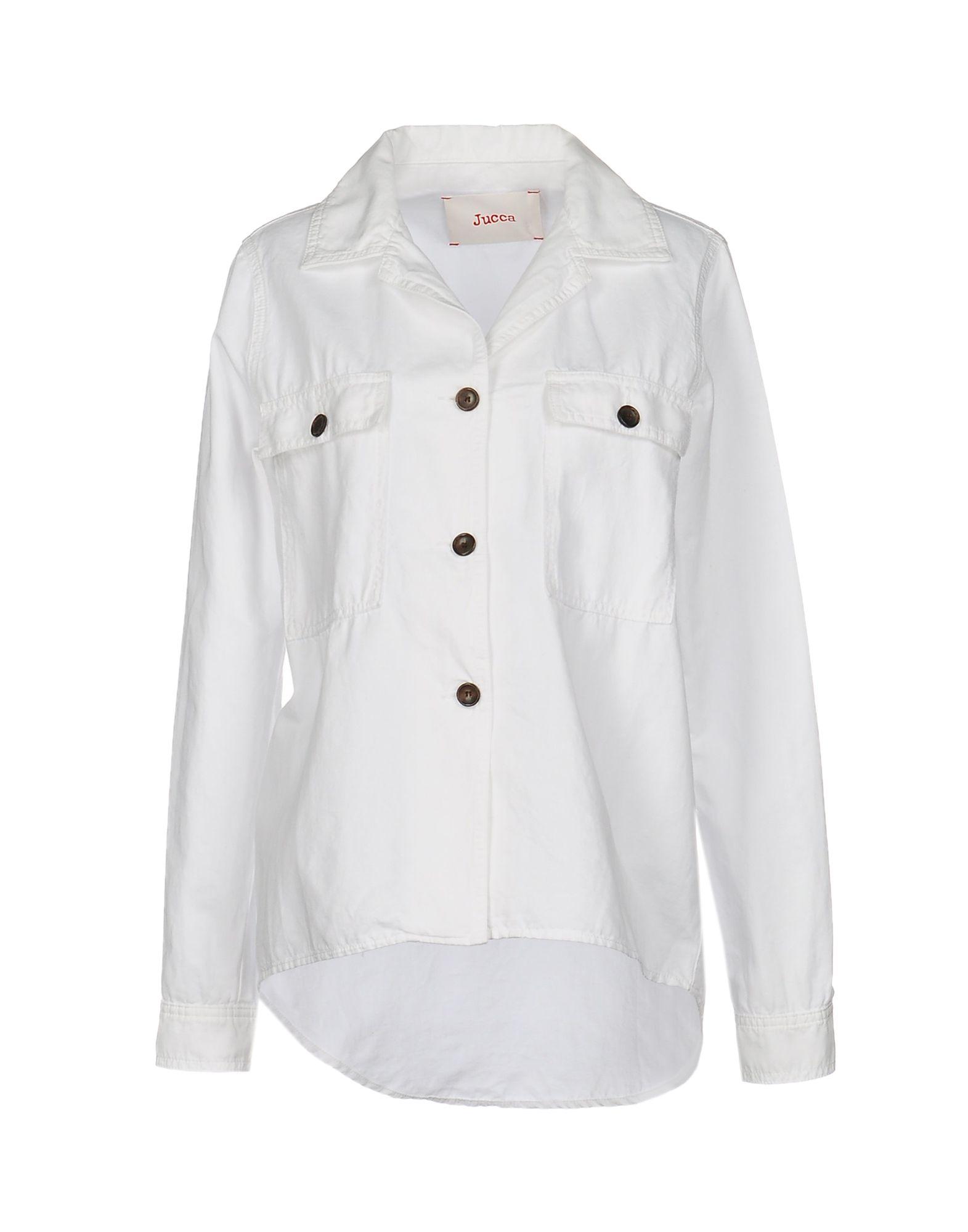 JUCCA Damen Hemd Farbe Weiß Größe 6 jetztbilligerkaufen
