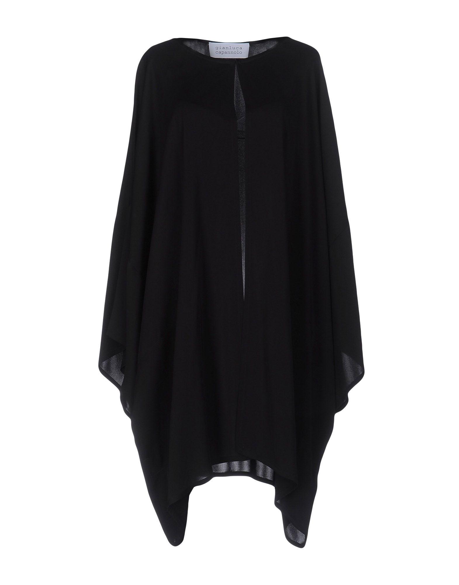 GIANLUCA CAPANNOLO Damen Lange Jacke Farbe Schwarz Größe 3 jetztbilligerkaufen