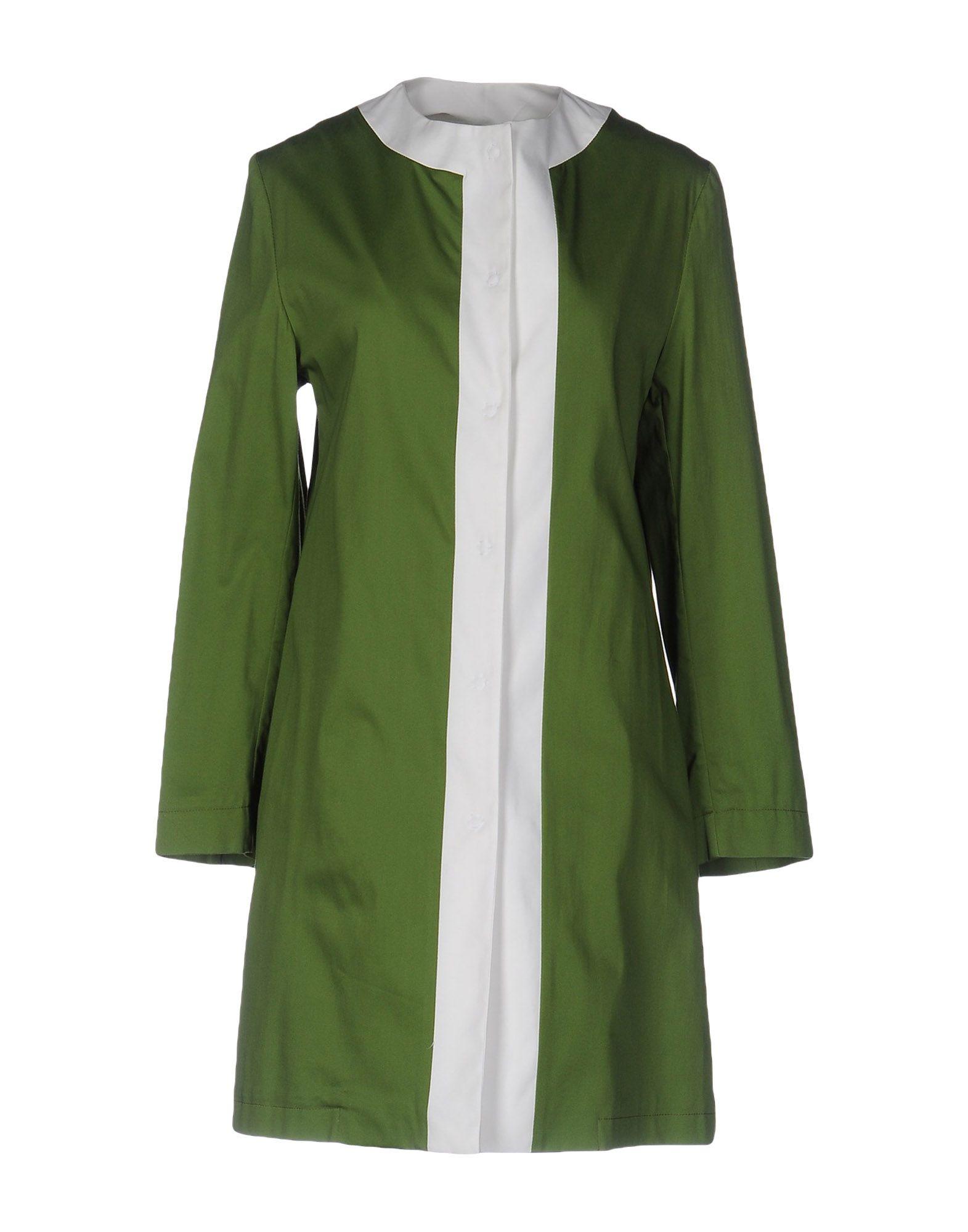 GUTTHA Damen Lange Jacke Farbe Grün Größe 4 jetztbilligerkaufen