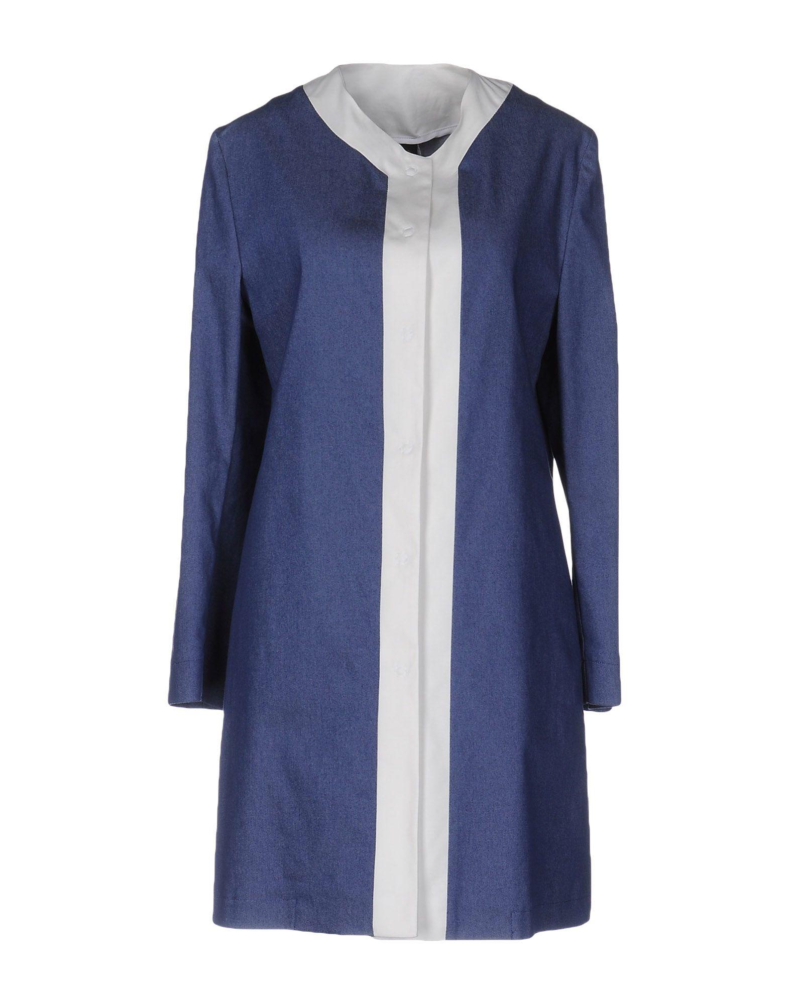 GUTTHA Damen Lange Jacke Farbe Blau Größe 5 jetztbilligerkaufen