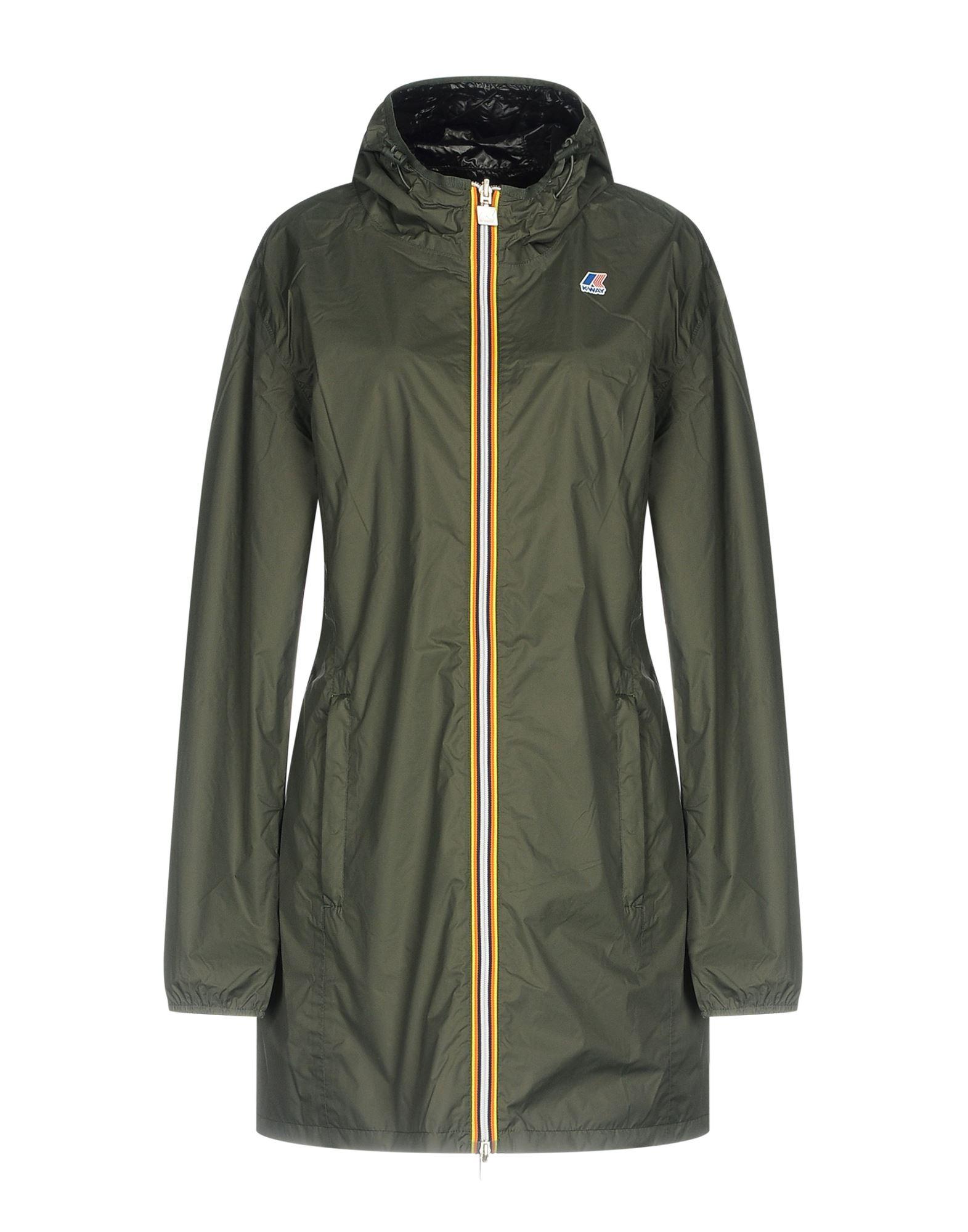 K-WAY Damen Jacke Farbe Militärgrün Größe 7 jetztbilligerkaufen