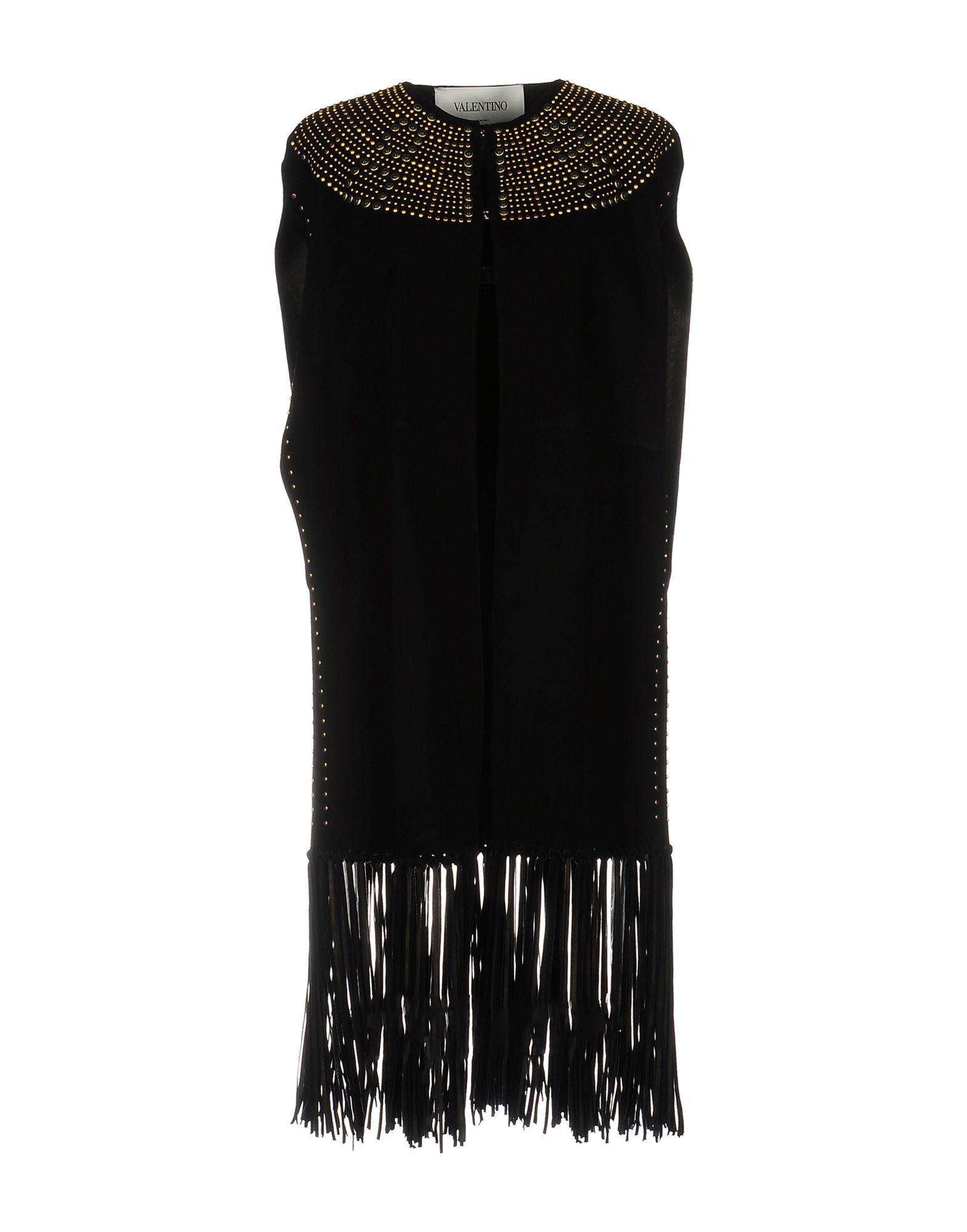 VALENTINO Damen Lange Jacke Farbe Schwarz Größe 4 jetztbilligerkaufen
