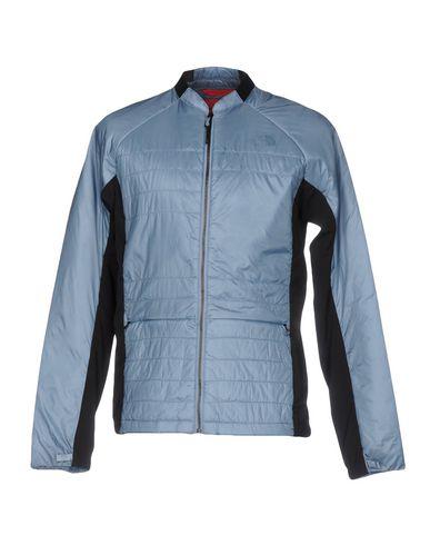 THE NORTH FACE Herren Jacke Blaugrau Größe S 100% Nylon