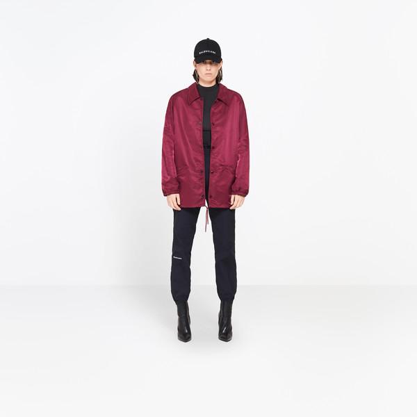BALENCIAGA Jacket Woman Swing Collar Bomber g