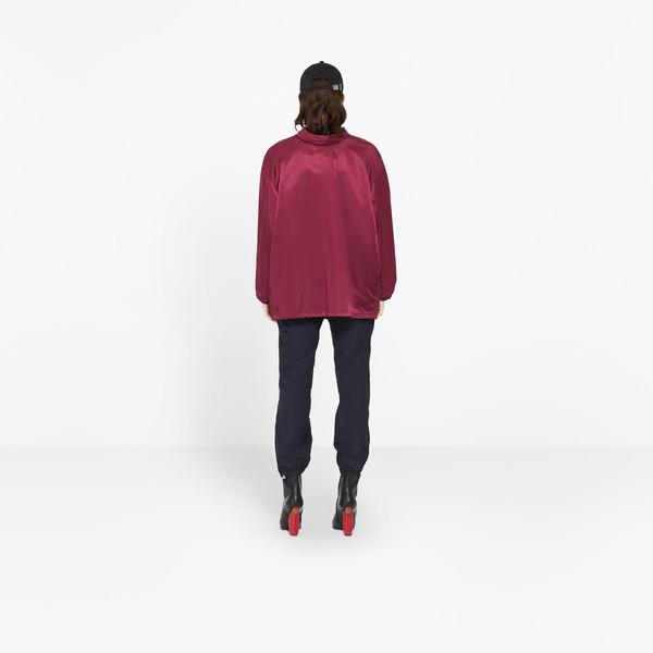 BALENCIAGA Jacket Woman Swing Collar Bomber h