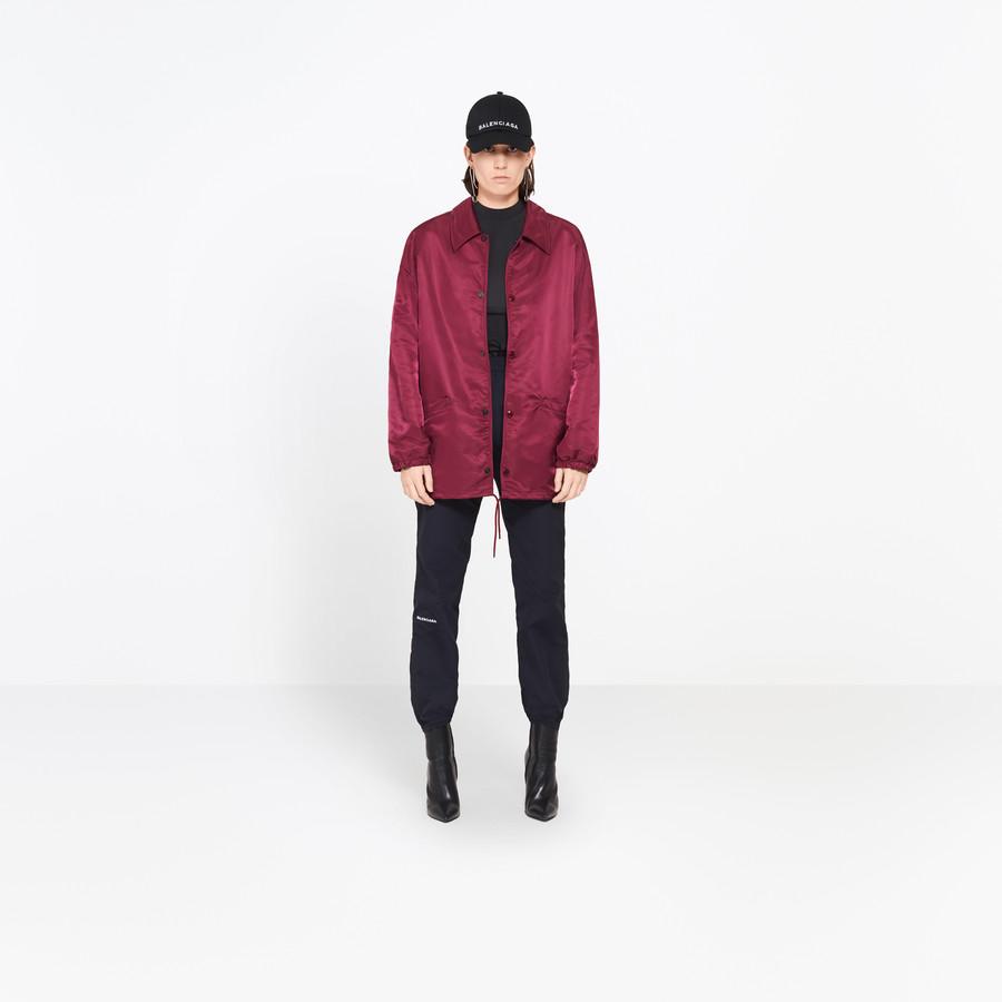 BALENCIAGA Swing Collar Bomber Jacket Woman f