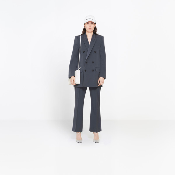 BALENCIAGA Jacket Woman Couture Shoulders Blazer g