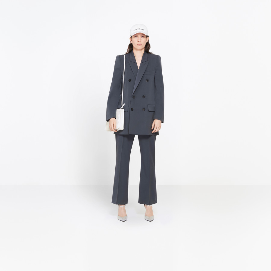 BALENCIAGA Couture Shoulders Blazer Jacket Woman f