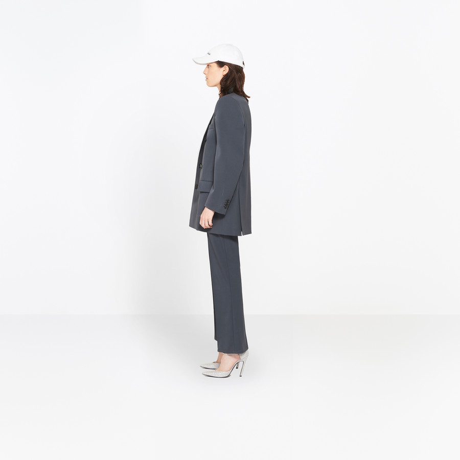 BALENCIAGA Couture Shoulders Blazer Jacket Woman i
