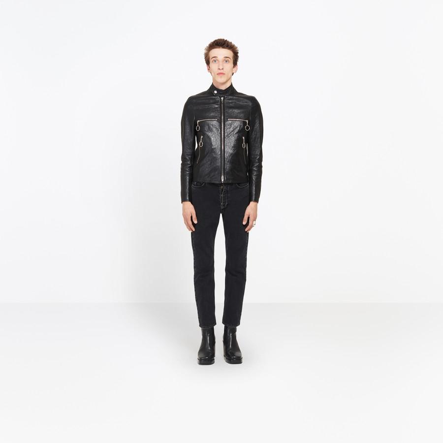 BALENCIAGA Shrunk Blouson Jacket U f