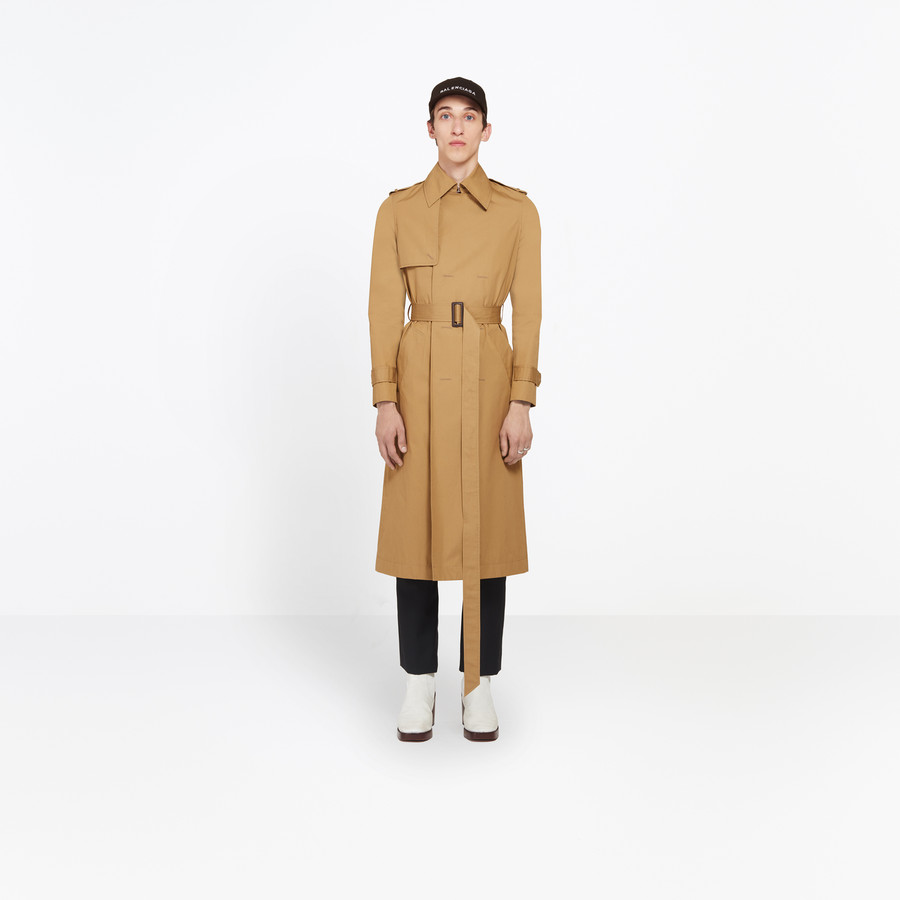 BALENCIAGA Trench Coat Shrunk Coats U g