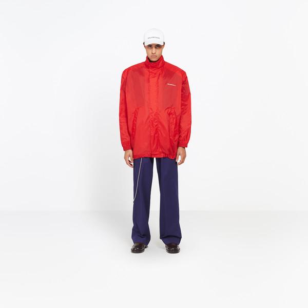 BALENCIAGA Jacket U Boxy Windbreaker Coat g