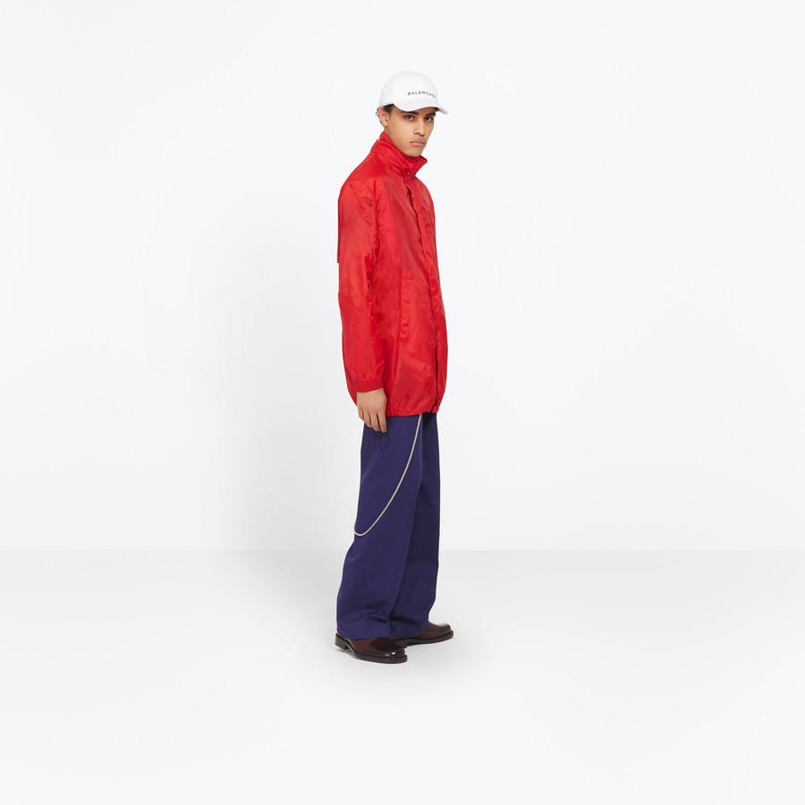 BALENCIAGA Boxy Windbreaker Coat Jacket U i