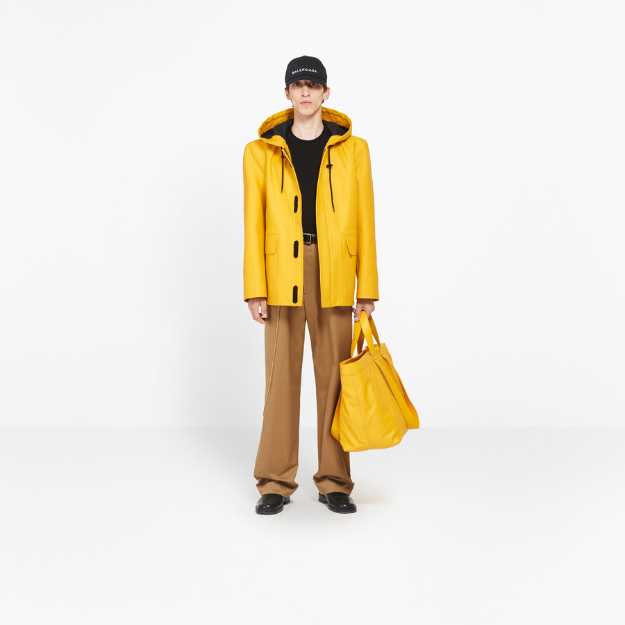 BALENCIAGA Boxy Raincoat Coats U g