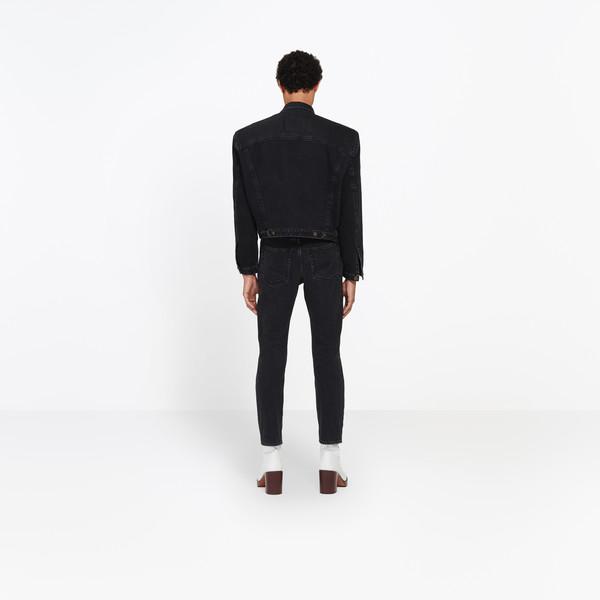 BALENCIAGA Jacket Man Boxy Denim Jacket h
