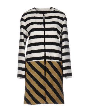 SONIA RYKIEL Damen Lange Jacke Farbe Schwarz Größe 5 Sale Angebote Terpe