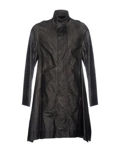 RICK OWENS Herren Lange Jacke Granitgrau Größe 48 100% Baumwolle