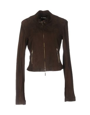 ARIA Damen Jacke Farbe Dunkelbraun Größe 7