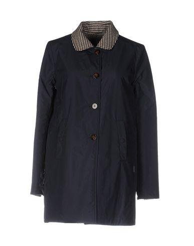 Купить Легкое пальто от PEUTEREY темно-синего цвета