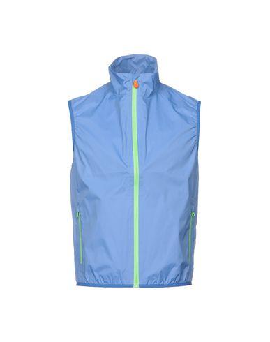 Фото - Мужскую куртку SAVE THE DUCK лазурного цвета