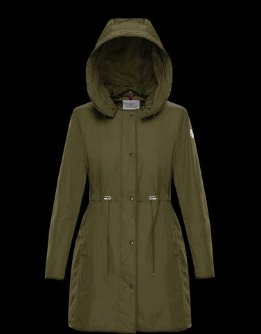 ANTHEMIS Military green Coats & Trench Coats
