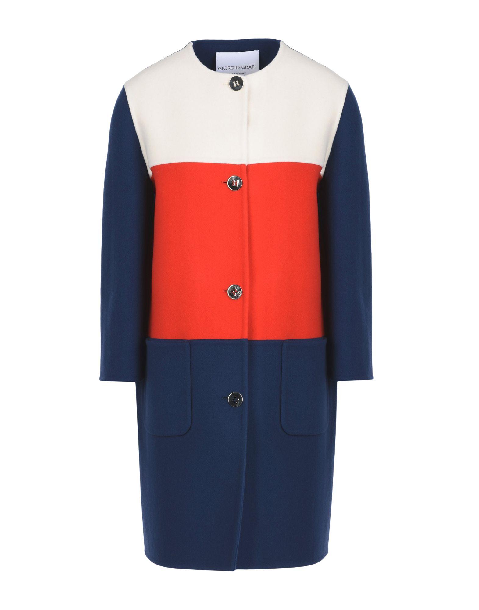 GIORGIO GRATI Пальто giorgio grati юбка длиной 3 4