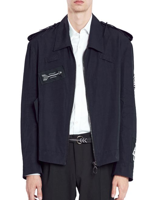 lanvin bomber jacket men
