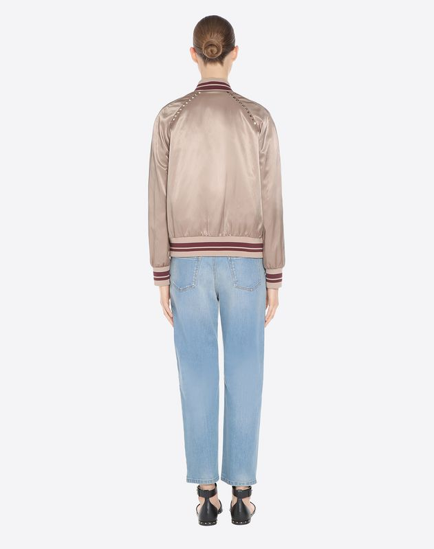 Studded Varsity Jacket