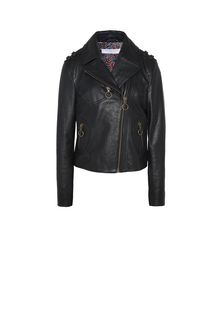 PHILOSOPHY di LORENZO SERAFINI PELLE E PELLICCE D HEART LEATHER JACKET f