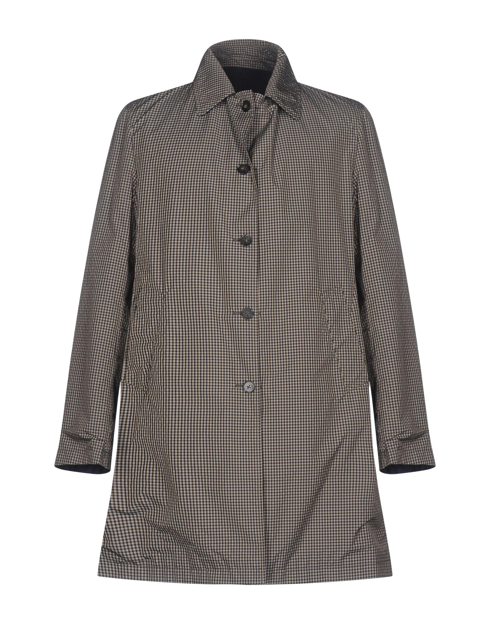 RVR LARDINI Full-Length Jacket in Khaki