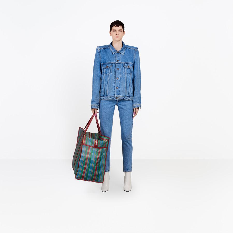 BALENCIAGA Boxy Denim Jacket Jacket Woman f