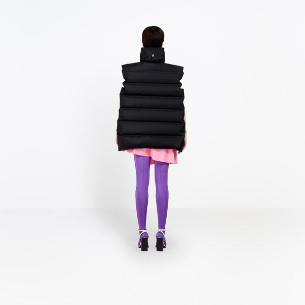 BALENCIAGA Jacke D Aufblasbare Jacke mit Reißverschluss h