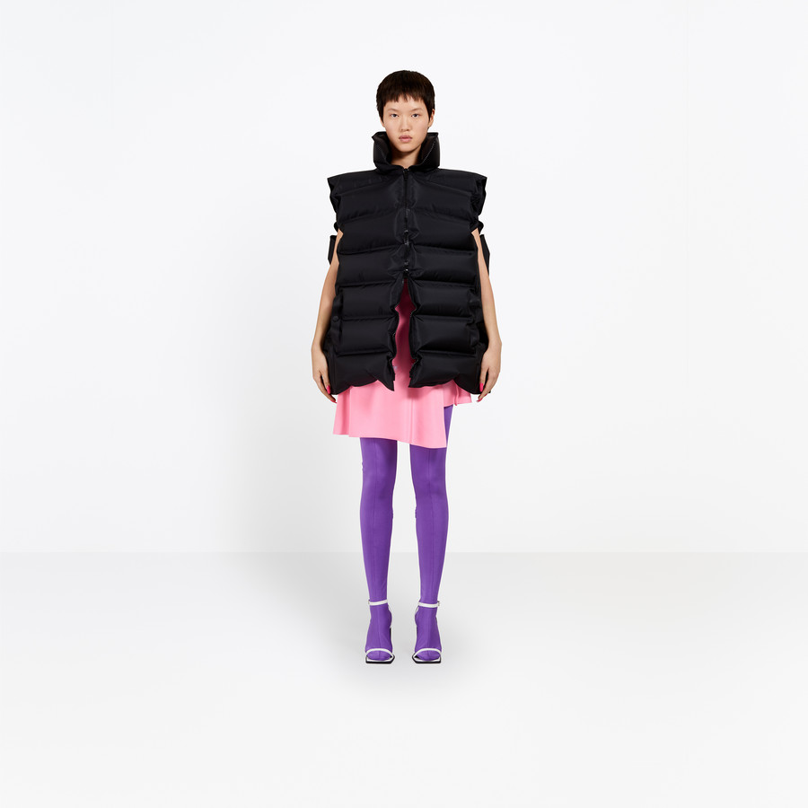 BALENCIAGA Inflatable Zipped Jacket Jacket D f