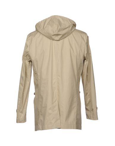 CAMPLIN Herren Lange Jacke Beige Größe 46 98% Baumwolle 2% Polyurethan