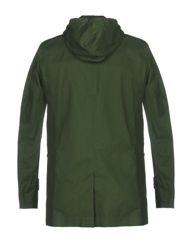 CAMPLIN Herren Lange Jacke Grün Größe 46 98% Baumwolle 2% Polyurethan