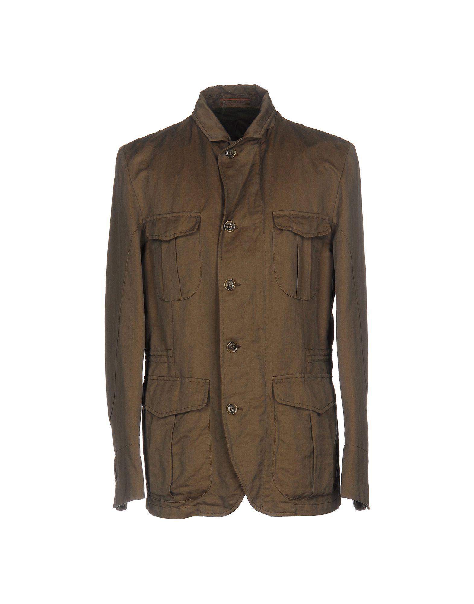 MONTEDORO Jacket in Cocoa