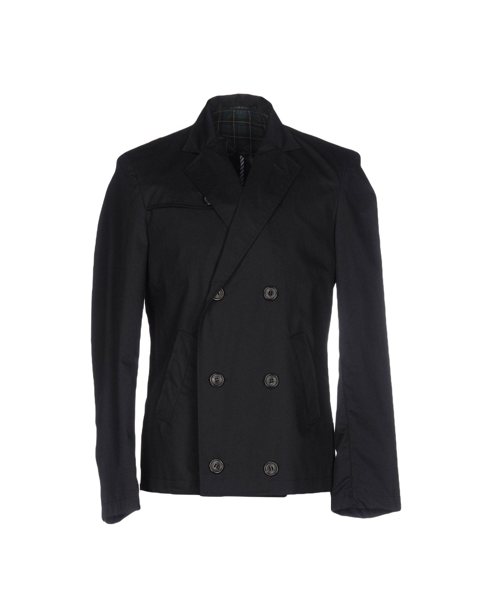 MASTER COAT Легкое пальто пальто с саржевым эффектом coat solid