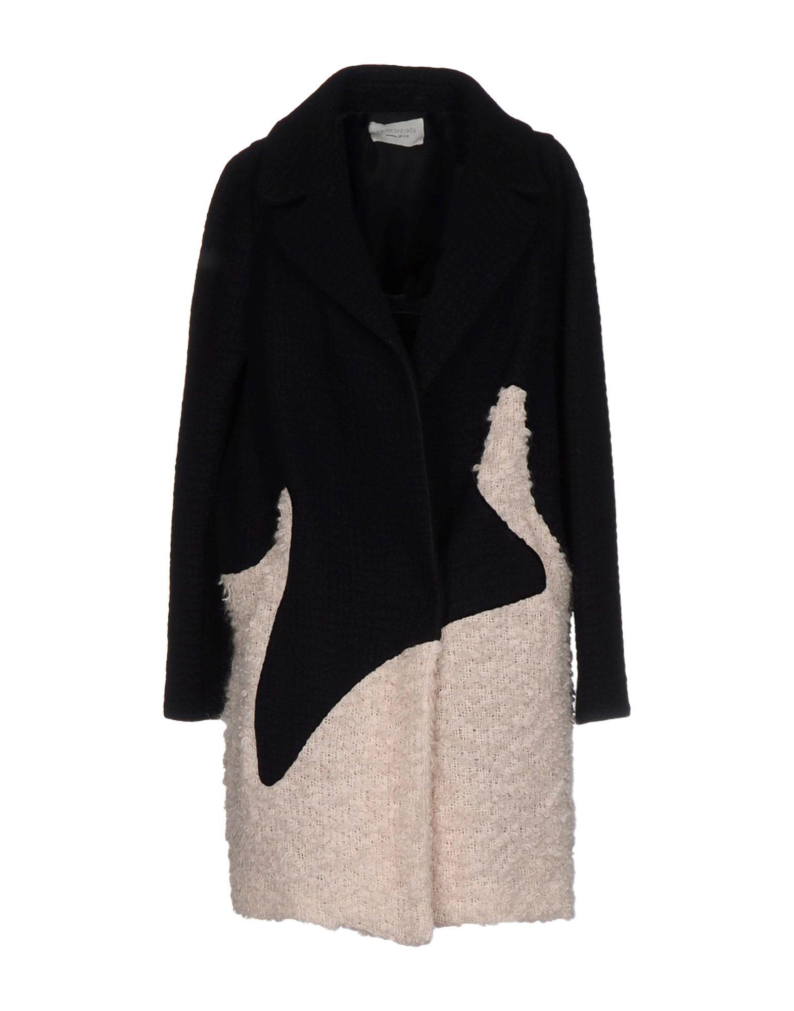CARLO CONTRADA Пальто guerlain la petite robe noire couture w edp 30
