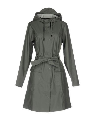 Купить Легкое пальто от RAINS свинцово-серого цвета
