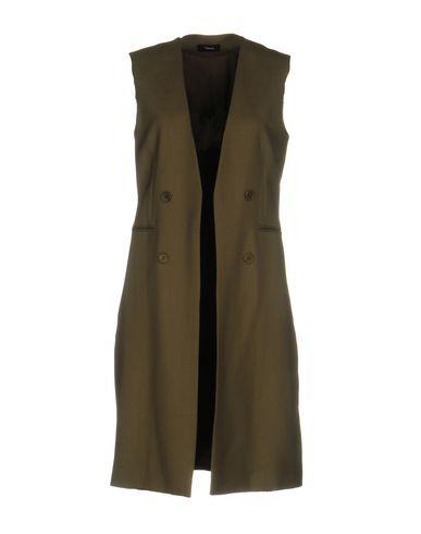 Фото - Легкое пальто цвет зеленый-милитари
