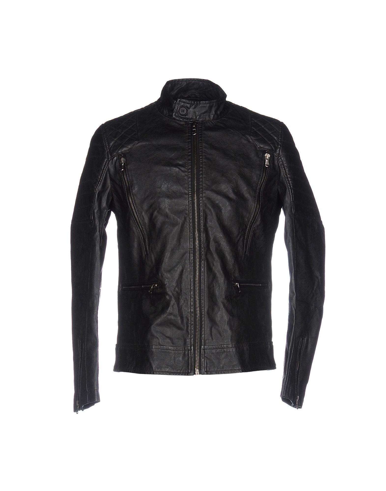 BERNA Куртка двуцетная кожаная куртка косуха на молнии