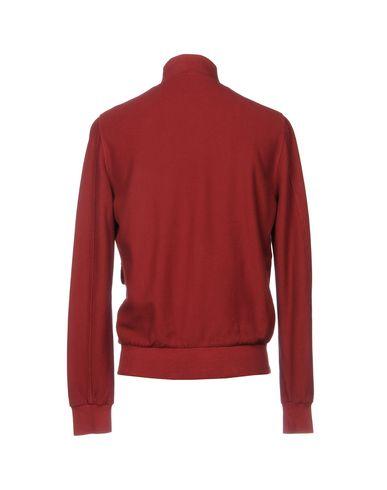 Фото 2 - Мужскую куртку CAPOBIANCO красно-коричневого цвета
