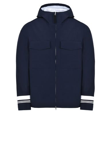STONE ISLAND Mid-length jacket 427X1 STONE ISLAND MARINA _ TANK SHIELD - MULTI LAYER FUSION TECHNOLOGY