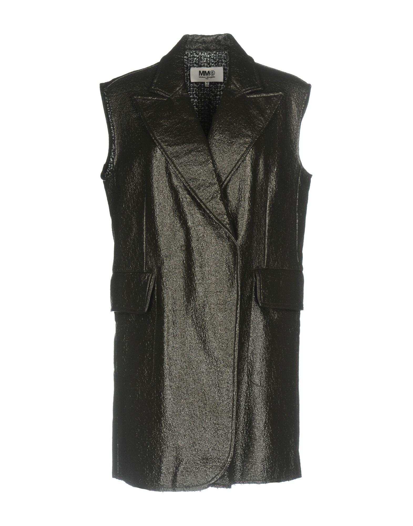 цена  MM6 MAISON MARGIELA Пальто  онлайн в 2017 году