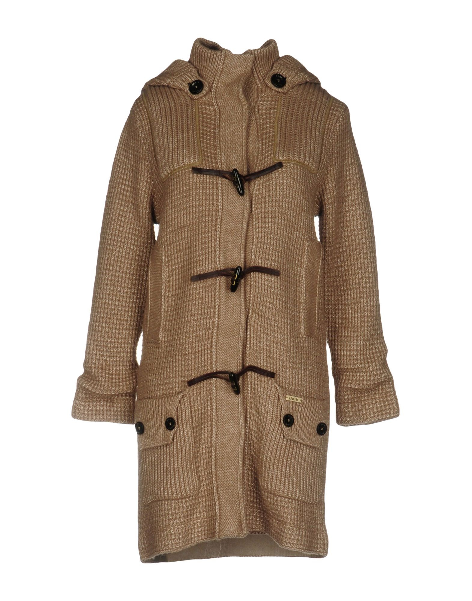 BARK Coat in Camel